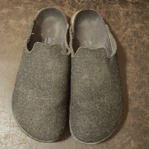 Wool Birkenstock Clog